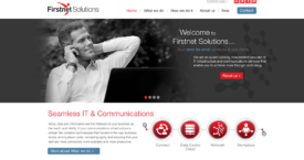 Firstnet Solutions Website