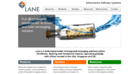 Lane Telecom Website